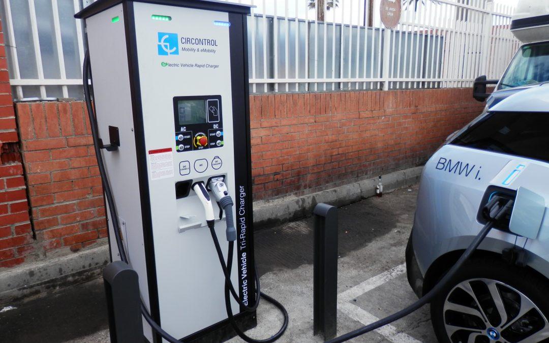 Circontrol instala en Barcelona el primer punto de recarga ultra rápida universal de Vehículos Eléctricos
