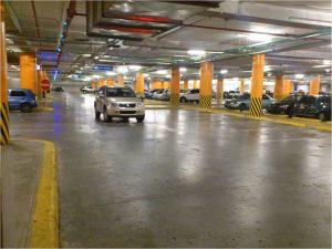 Circontrol Parking Guidance System Agora Mall