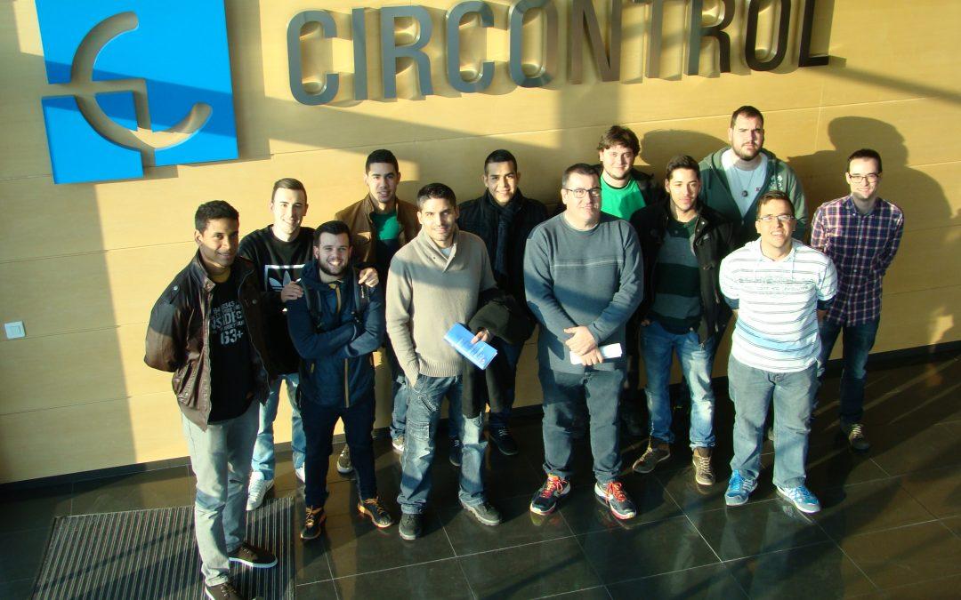 El Instituto Castellarnau visita las instalaciones de Circontrol