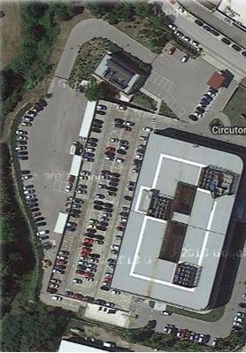 Nuevo sistema de guiado outdoor en el parking de Circutor