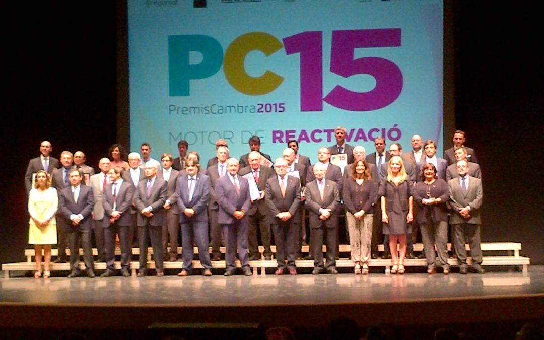 """Premio """"Cambra 2015"""" a la Trayectoria Internacional Consolidada para Circontrol"""