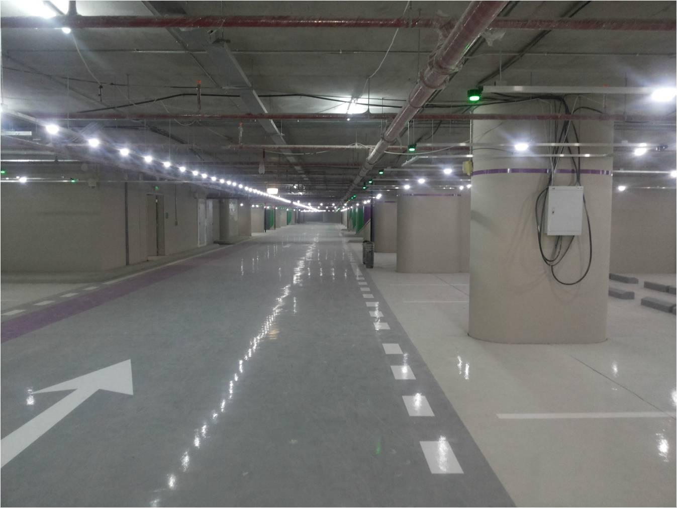 Circontrol Parking Guidance System abdalli mall