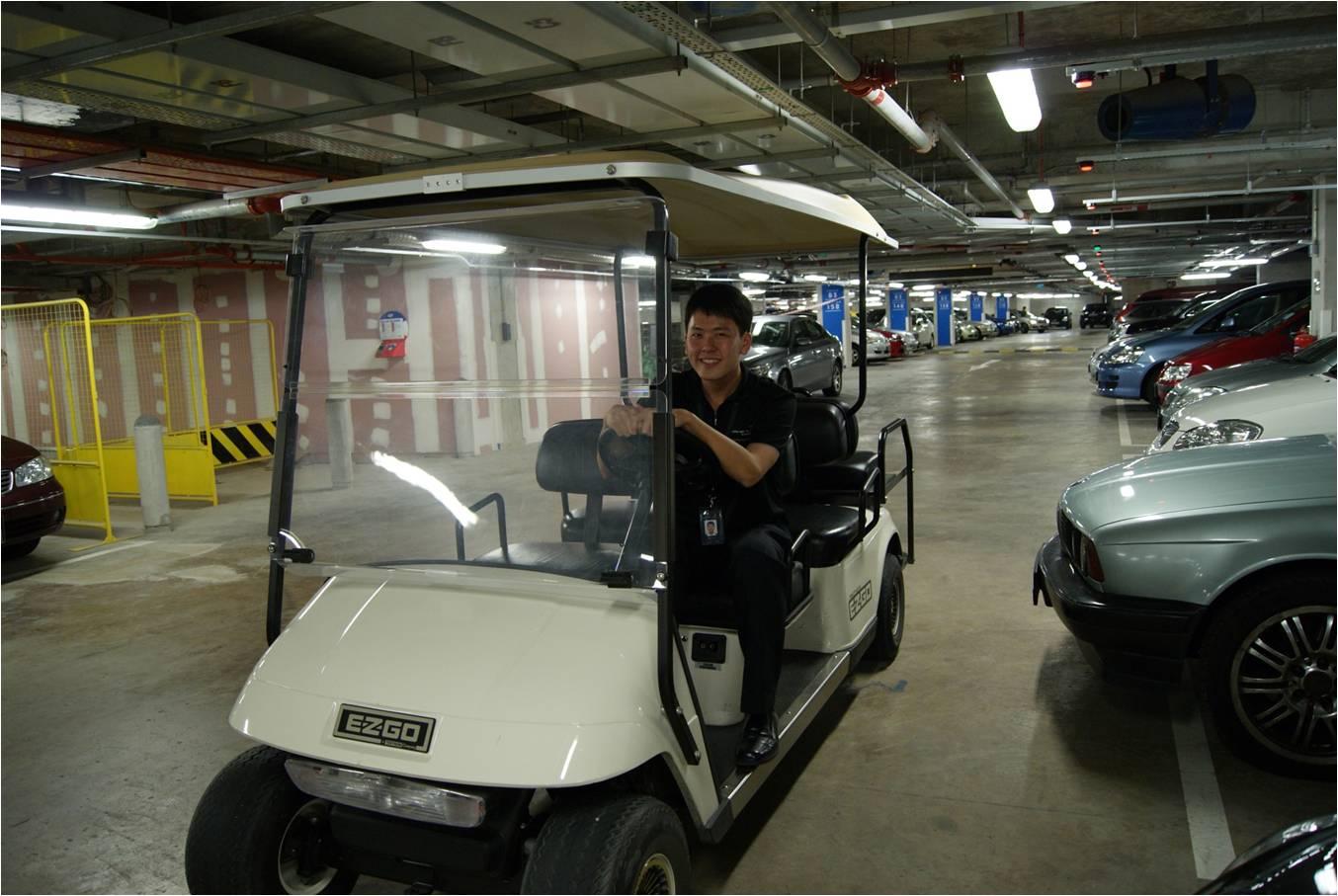 Circontrol Parking Guidance System in Marina Bay