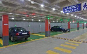 Gestión de parking para centros comerciales