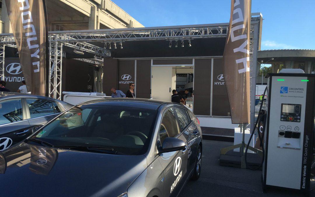 Cargadores de Circontrol en el Catalan Electric Tour y el Mondial de l'Automobile de París