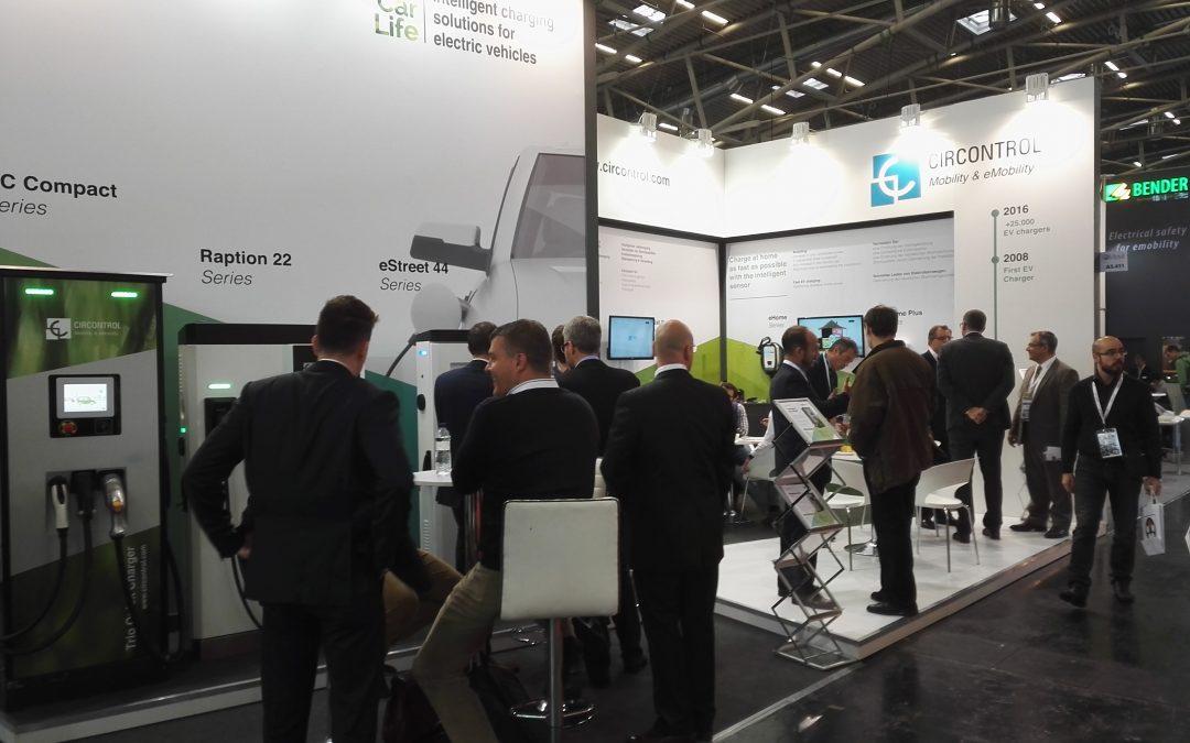 Circontrol presenta en eCarTec sus soluciones de recarga para vehículos eléctricos y sistemas de gestión de la  carga
