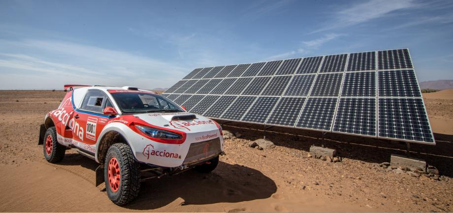 El coche eléctrico se hace un hueco en el Dakar 2017