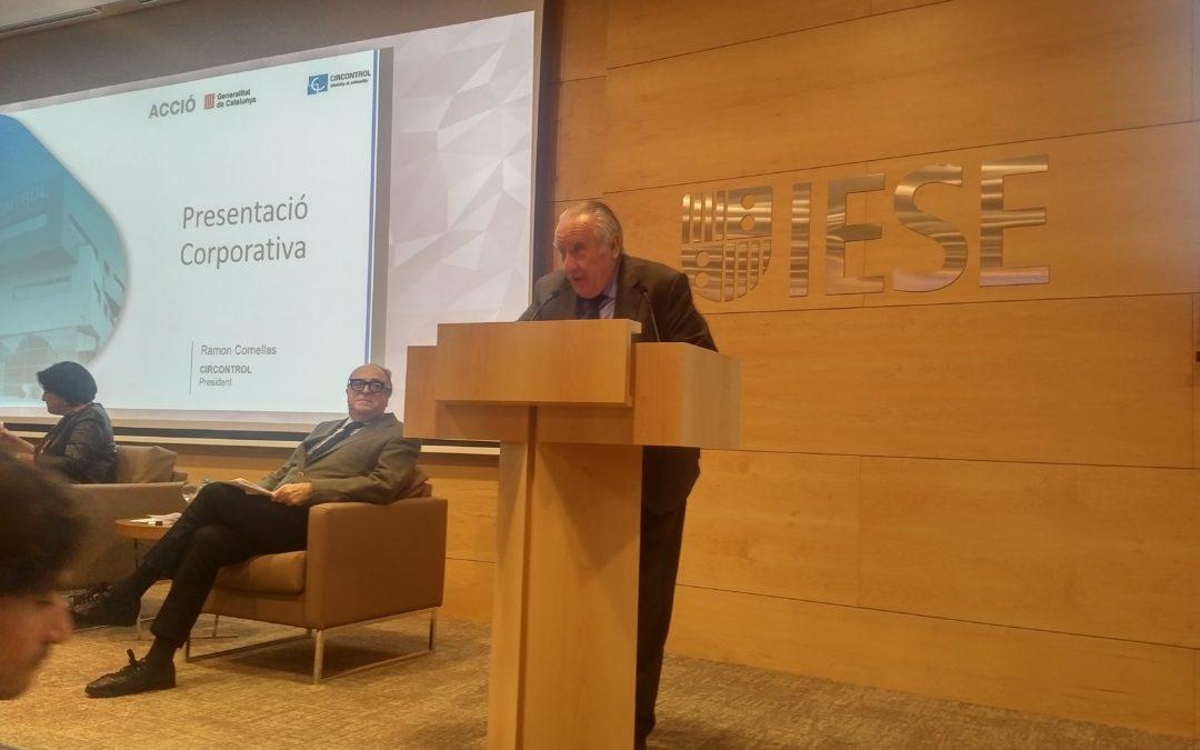 Circontrol presenta su apuesta por la innovación en la VI Jornada de Cambio Estratégico en Clusters organizada por ACCIÓ