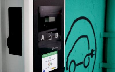 Cargadores para Vehículos Eléctricos de Circontrol los aparcamientos de Saba y Bamsa