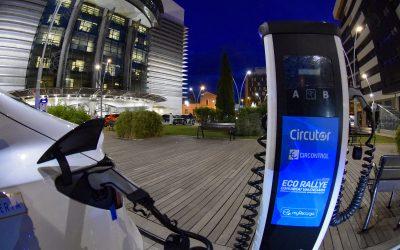 Circontrol colabora en la infraestructura de carga de vehículos eléctricos del Eco Rallye de Castellón