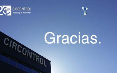 Circontrol celebra su 20 Aniversario con trabajadores y sus familiares